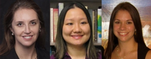 Dr. Carla Sharp, Carolyn Ha and Amanda Venta