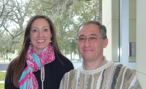 Drs. Jennifer Wickesberg and Ferenc Bunta